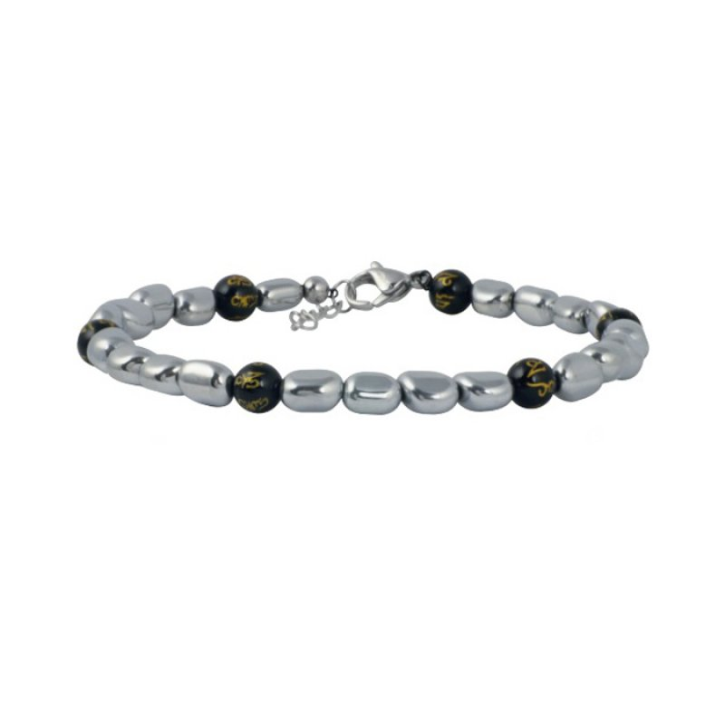 Βραχιόλι Ανδρικό ROSSO AMANTE Black Stainless Steel - UBR049OE