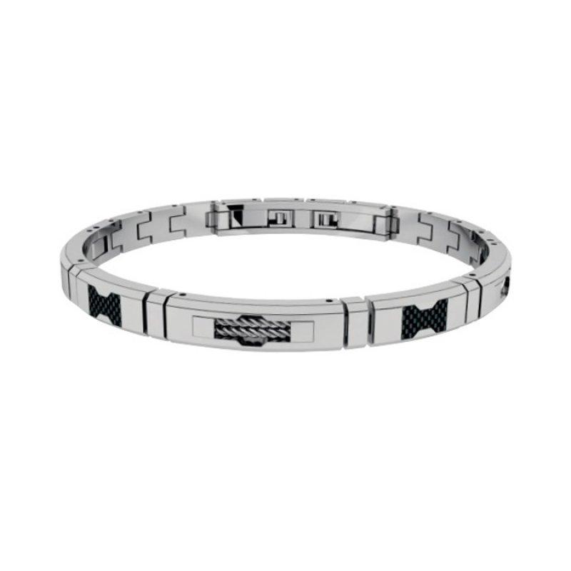 Βραχιόλι Ανδρικό ROSSO AMANTE Stainless Steel - UBR075LR