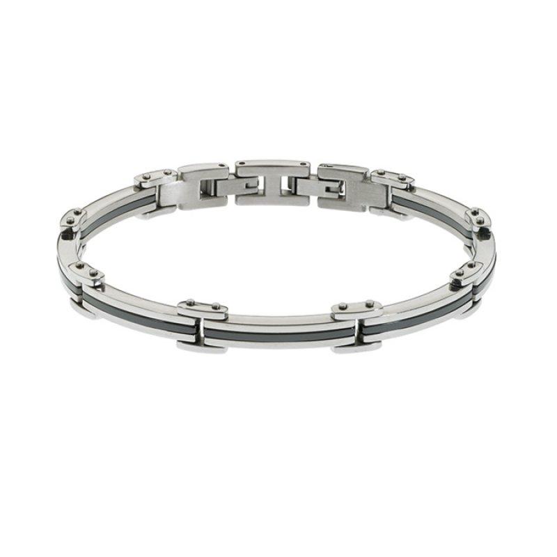 Βραχιόλι Ανδρικό ROSSO AMANTE Stainless Steel - UBR164BG