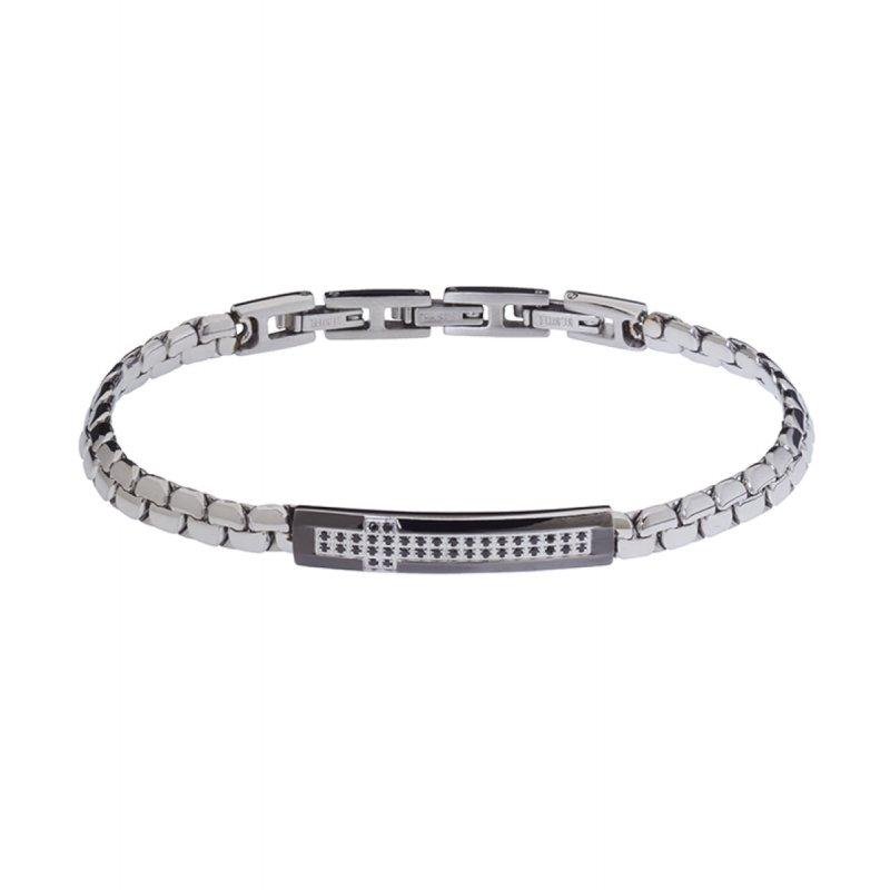 Βραχιόλι Ανδρικό ROSSO AMANTE Spinels Stainless Steel - UBR388GR