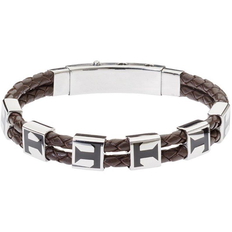 Βραχιόλι Ανδρικό ROSSO AMANTE Leather Strap - UBR397MA