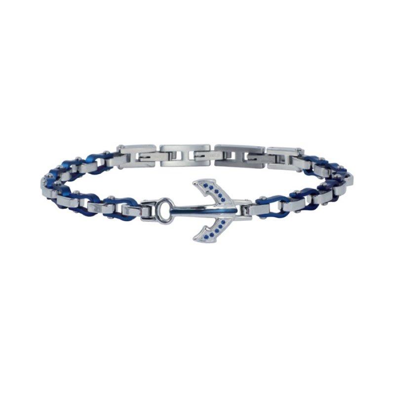Βραχιόλι Ανδρικό ROSSO AMANTE Blue Stainless Steel - UBR410OR