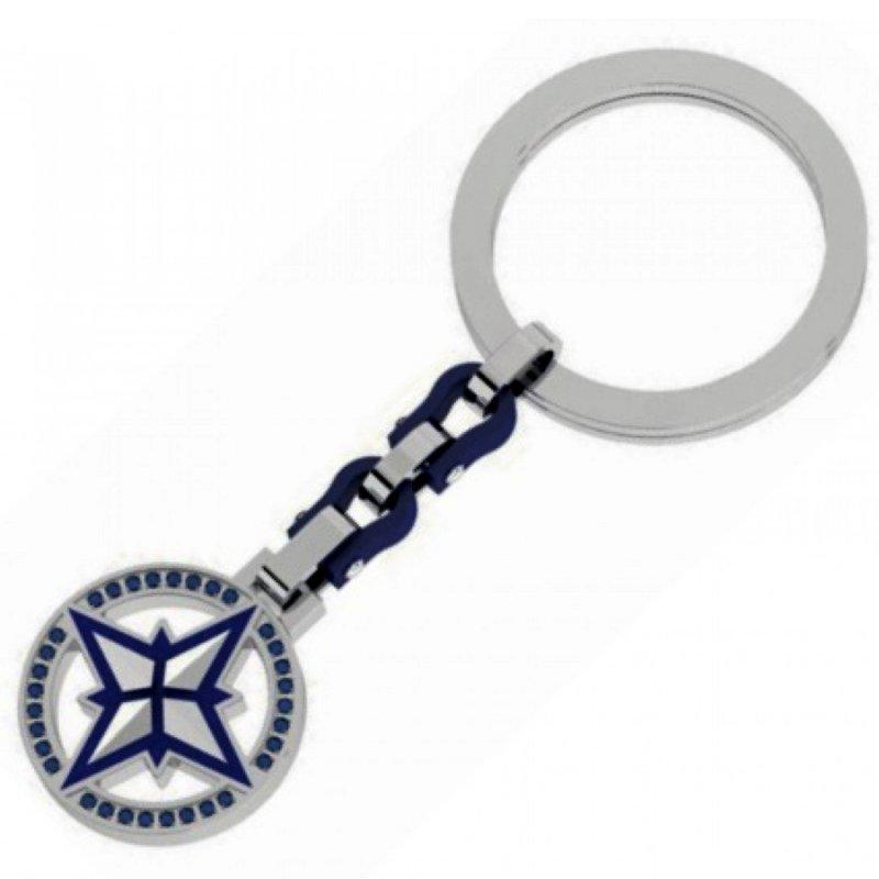 Κλειδοθήκη Ανδρική ROSSO AMANTE Stainless Steel - UPC028BL