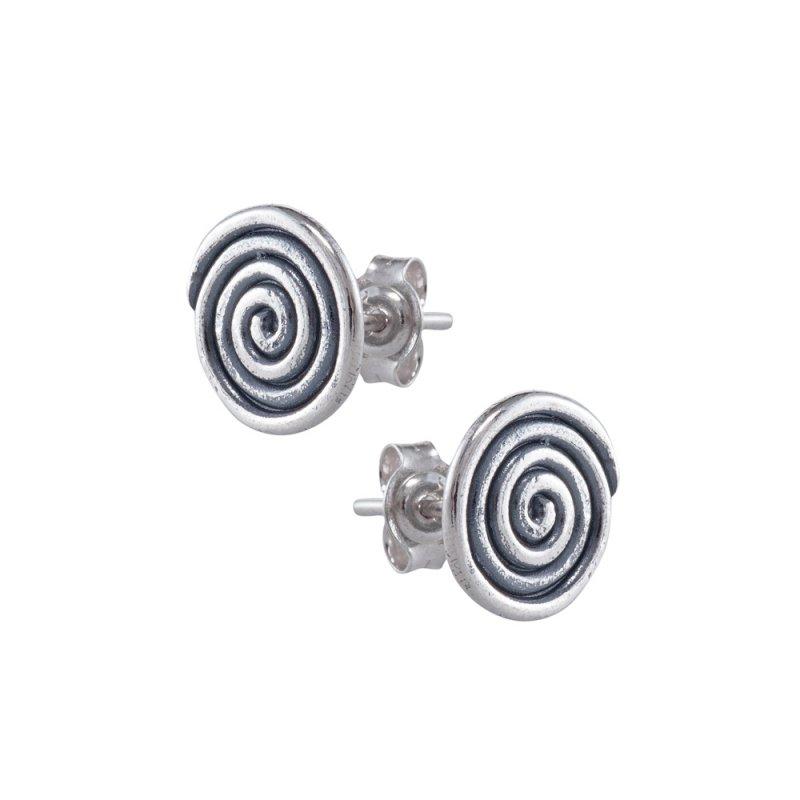 Σκουλαρίκια SENZA Μαίανδρος Ασήμι 925 - GRSC109