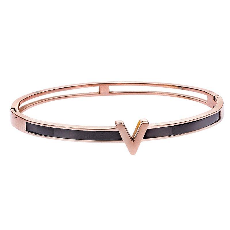 Βραχιόλι Γυναικείο SENZA Rose Gold Steel - SSD2251