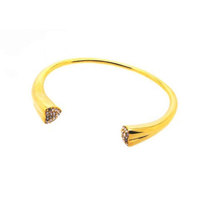 Βραχιόλι Senza Steel Gold Plated Strass - SSD23785