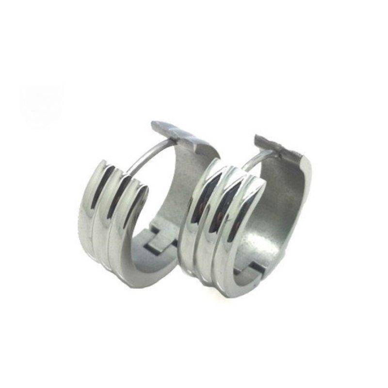 Σκουλαρίκια Senza Steel Silver - SSD32750