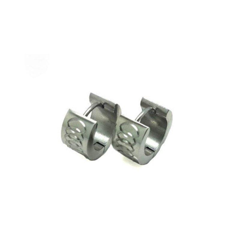 Σκουλαρίκια Senza Steel Silver - SSD32808