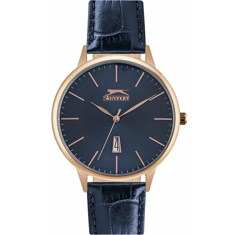 Ρολόι Slazenger Blue Leather Strap - SL.09.6195.1.03