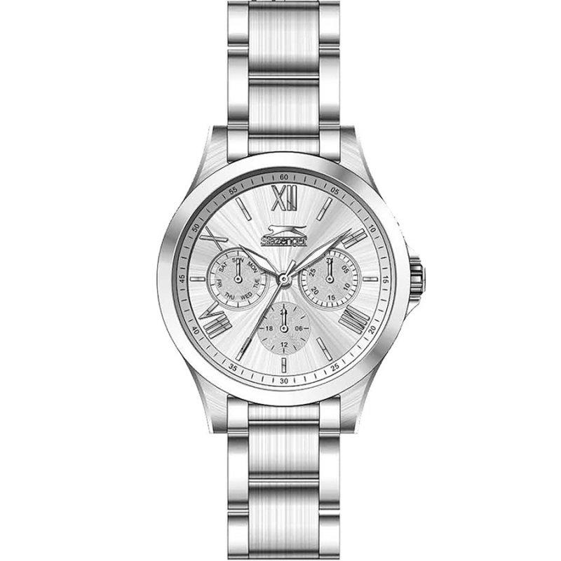 Ρολόι Slazenger White Dial Stainless Steel Bracelet - SL.09.6272.4.05