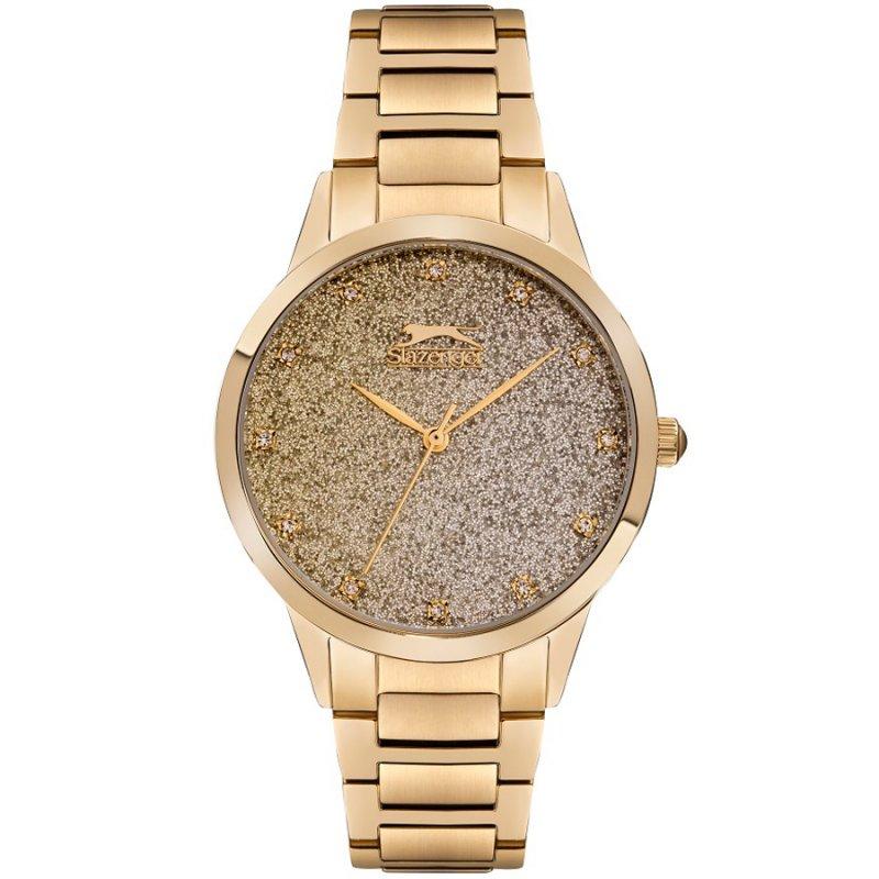 Ρολόι SLAZENGER Gold Stainless Steel Bracelet - SL.09.6331.3.01