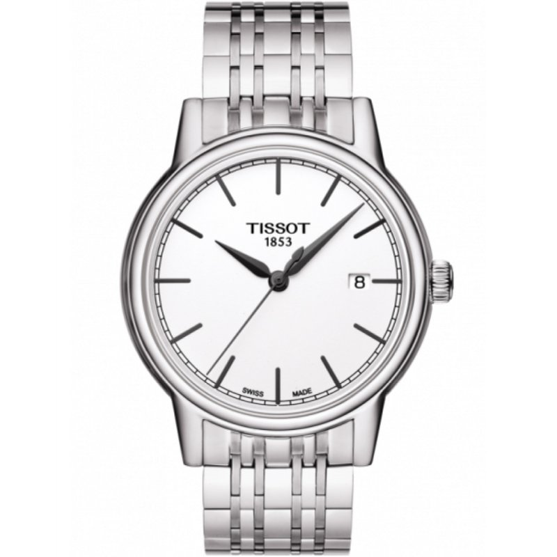 Ρολόι TISSOT Gents Carson Silver Stainless Steel Bracelet - T085.410.11.011.00