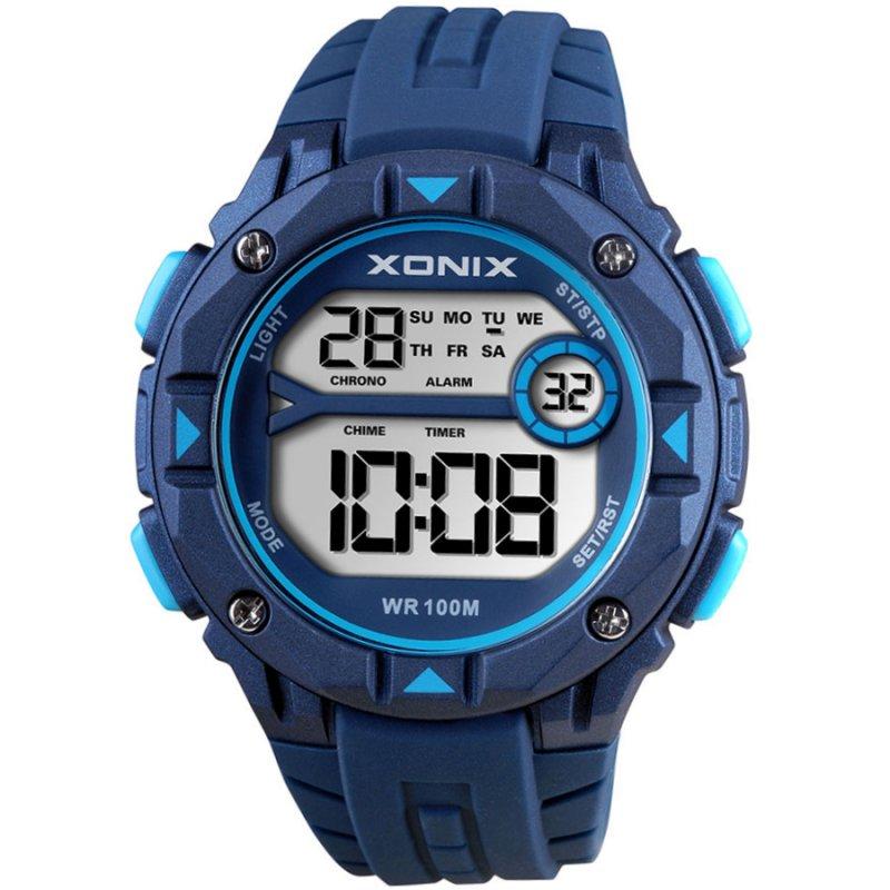 Ρολόι XONIX Blue Rubber Strap - DAE-003