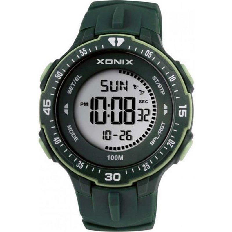 Ρολόι XONIX Green Rubber Strap - DAN-003