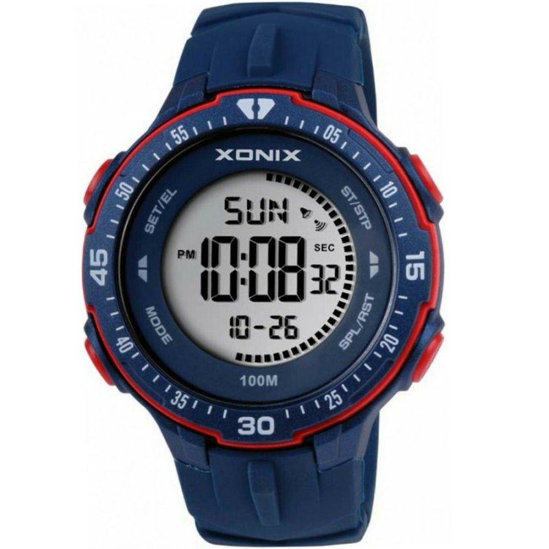 Ρολόι XONIX Blue Rubber Strap - DAN-005