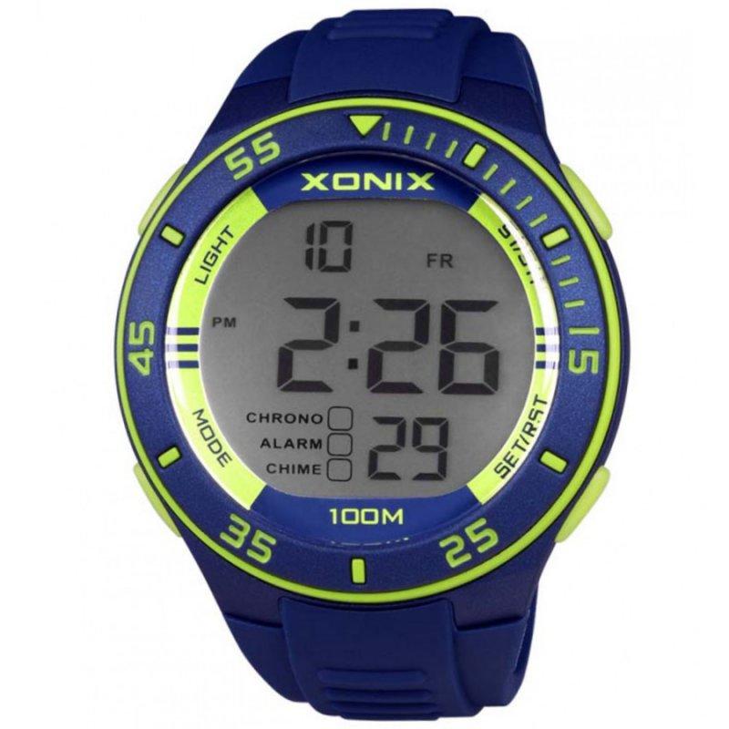 Ρολόι XONIX Blue Rubber Strap - JZ-003