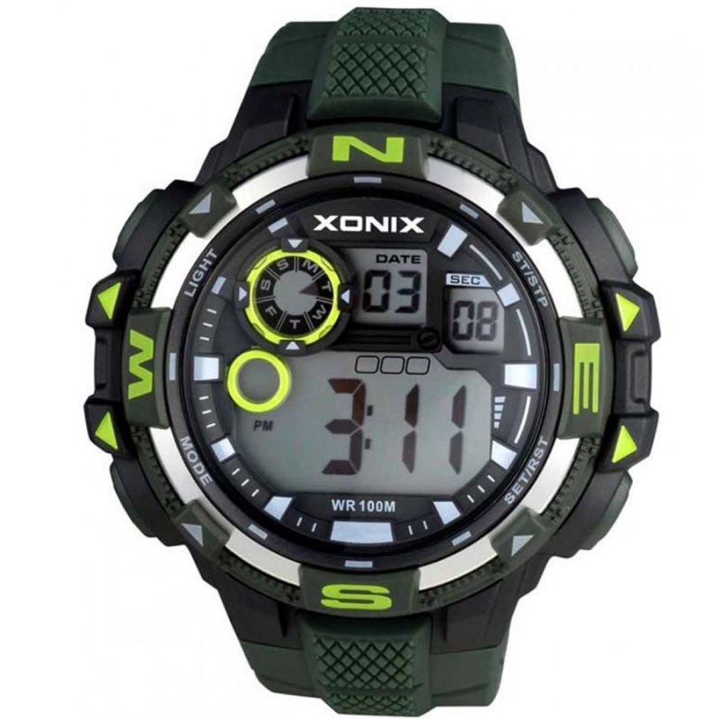 Ρολόι XONIX Khaki Rubber Strap - NM-003