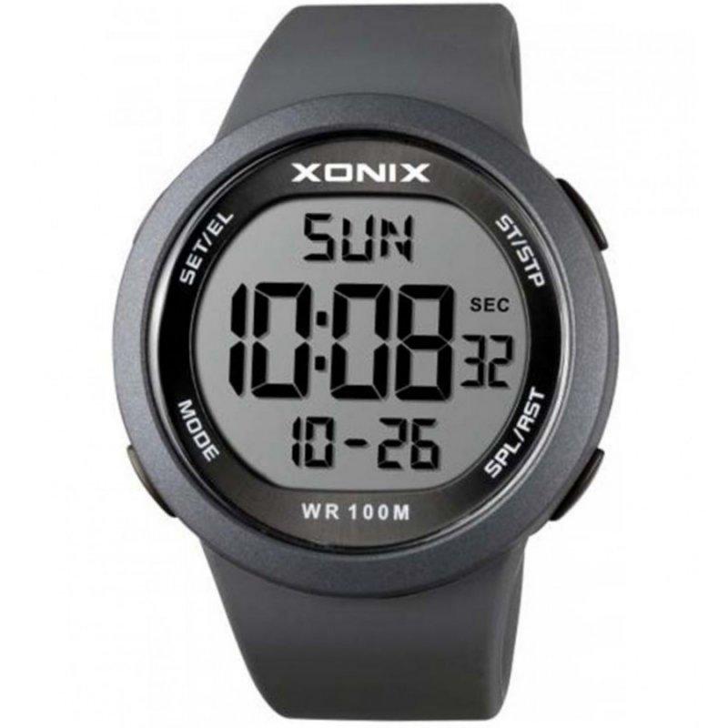 Ρολόι XONIX Grey Rubber Strap - NY-A02